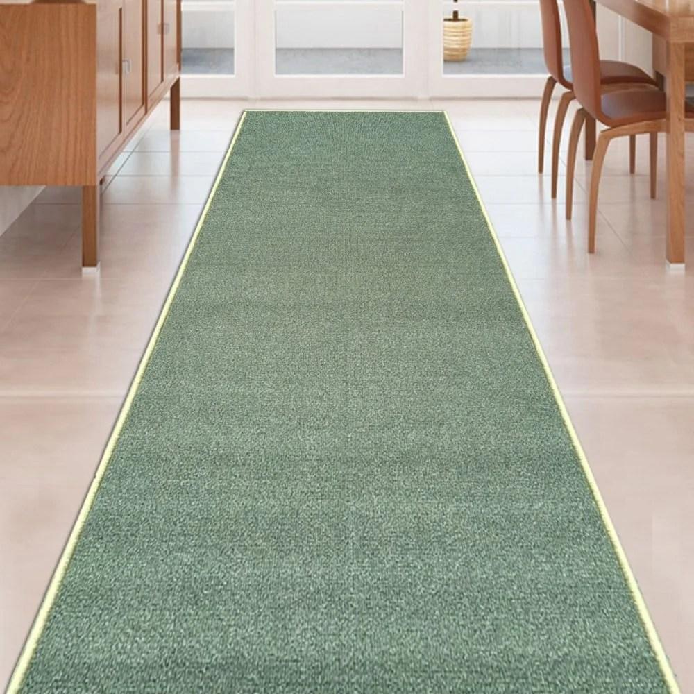 Non Slip Hallway Stair Runner Rug Eastside   Non Slip Stair Runners   Mat   Beige   Wooden Steps   Treads Carpet   Bullnose Carpet