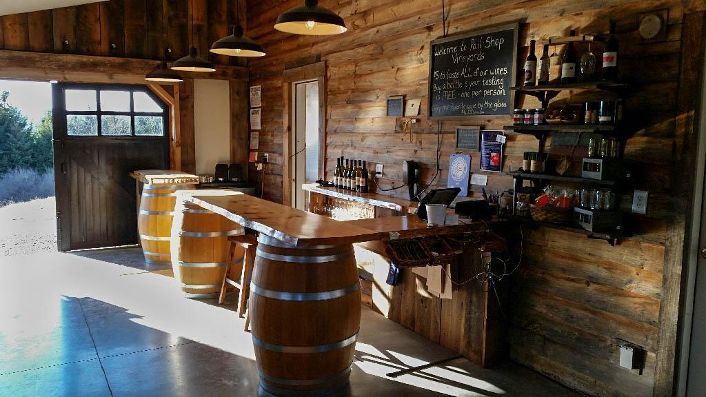Wine Tasting Cooperstown Pail Shop Vineyards