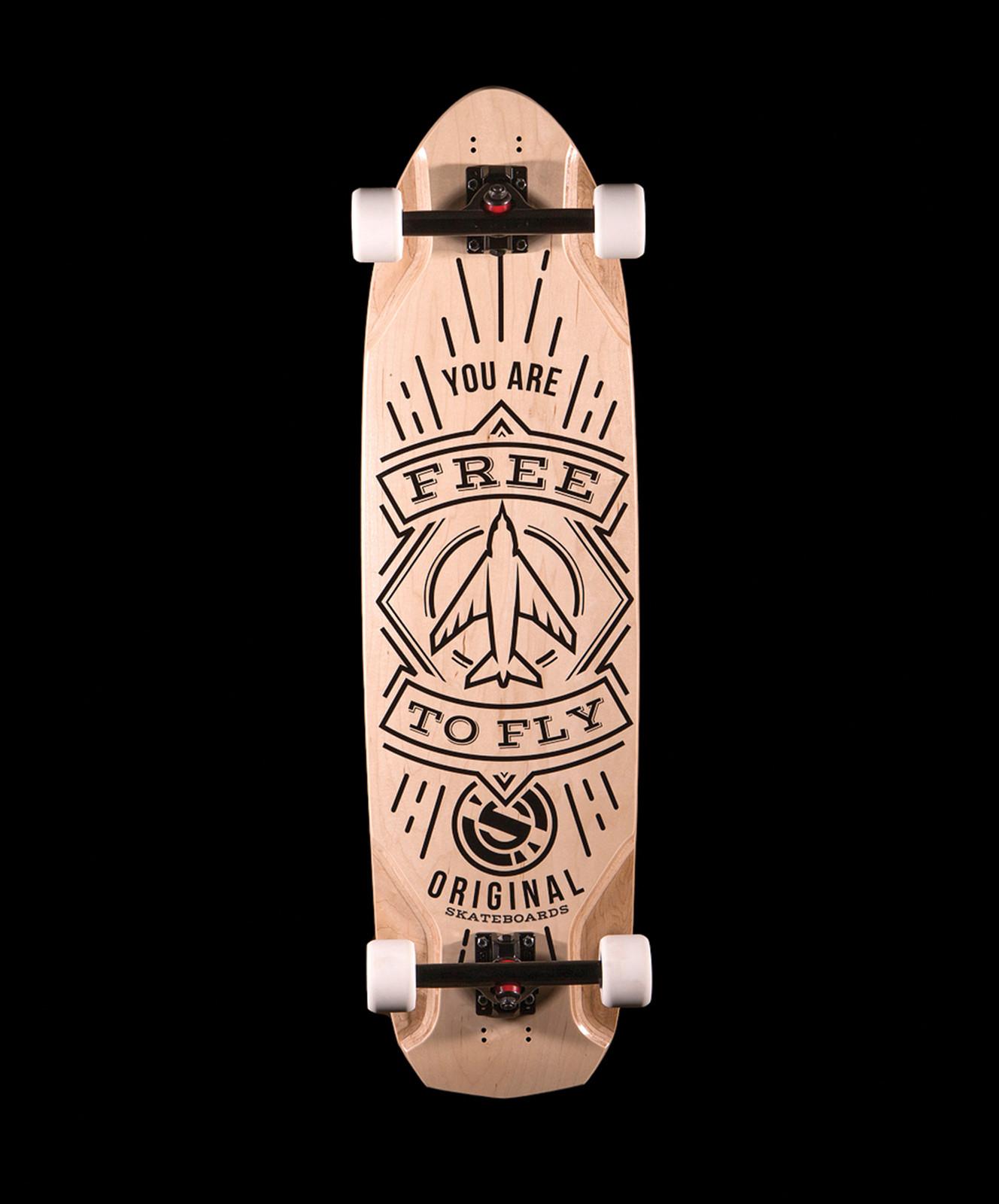 original beast longboard - HD1328×1600