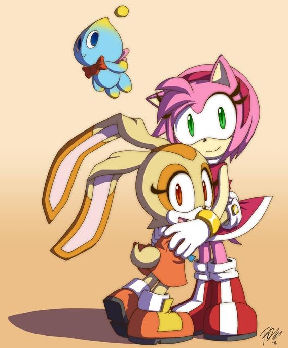 Cream Cheese Rabbit Sonic X