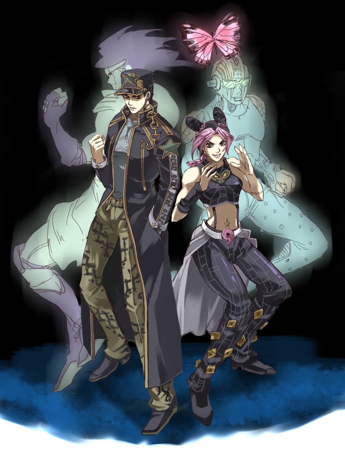 Stone Free Stone Ocean Zerochan Anime Image Board