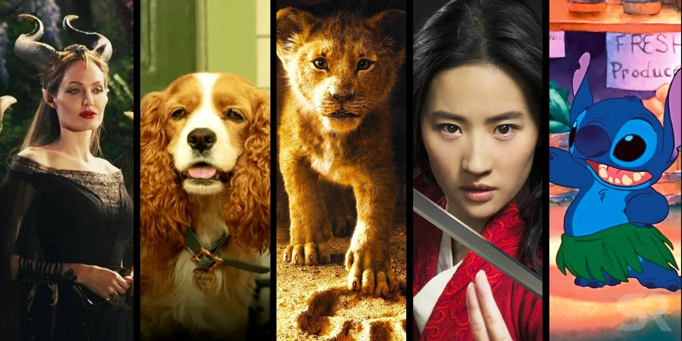 Upcoming Disney Live-Action Movies: All 16 Remakes In ...