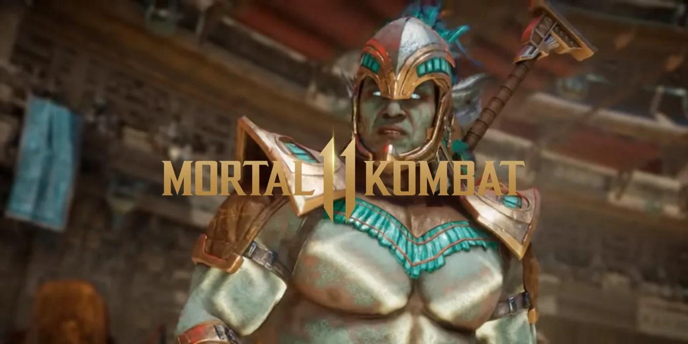 Mk11 Kotal Kahn Loses In His Own Trailer Screen Rant