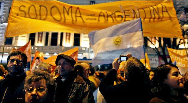 Argentina Approves Gay Marriage In A First For Region