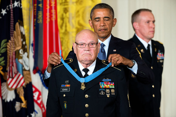Who Medal Been Has Awarded Honor