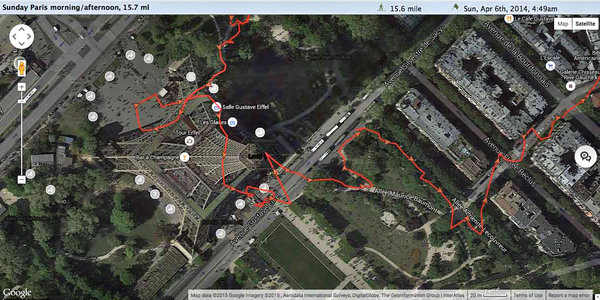 Four Apps for Mapping Your Walking Routes   The New York Times Image
