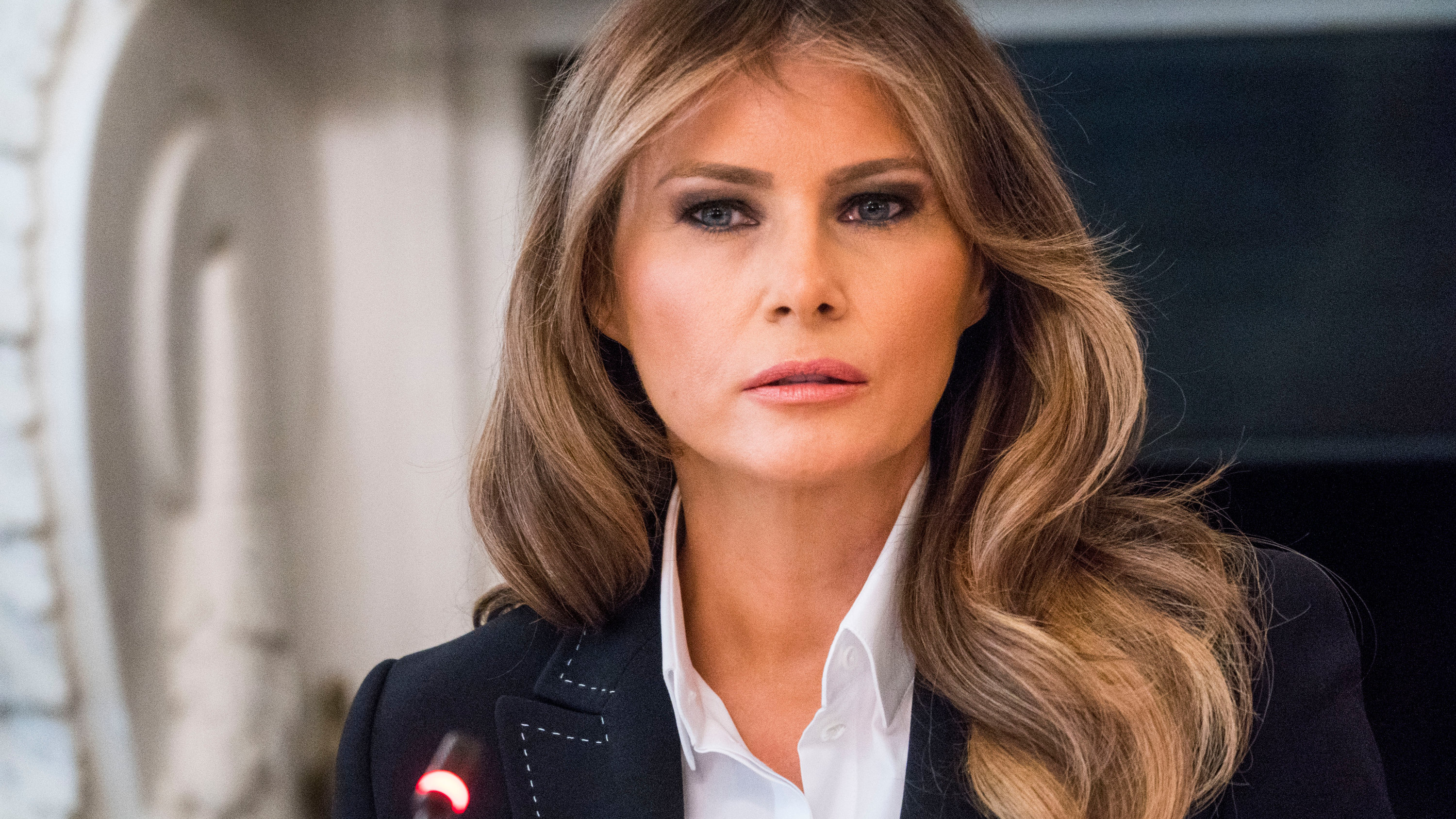 Melania Trump, Out of Sight Since Report of Husband's ...