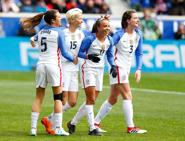 In Fight for Equality, U.S. Women's Soccer Team Leads the ...