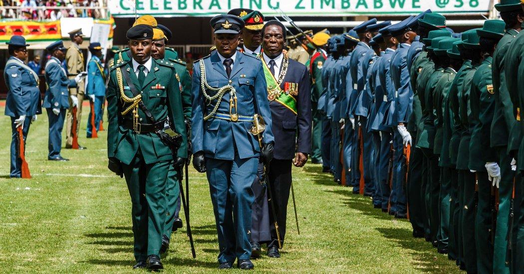 Mugabe Has Left, but His Legacy Haunts Zimbabwe's Election ...