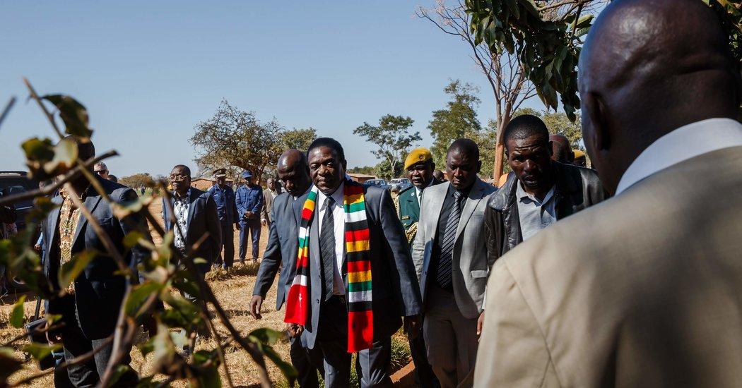 Zimbabwe Elects Mnangagwa, the Man Who Ousted Mugabe - The ...