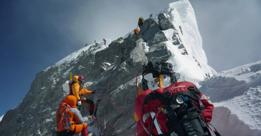Nepal Says Everest Rules Might Change After Traffic Jams