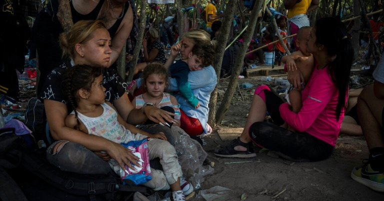 Biden government to deport Haitians in Del Rio, Texas