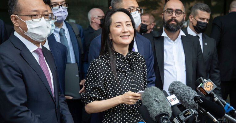US agrees to release Huawei's Meng Wanzhou
