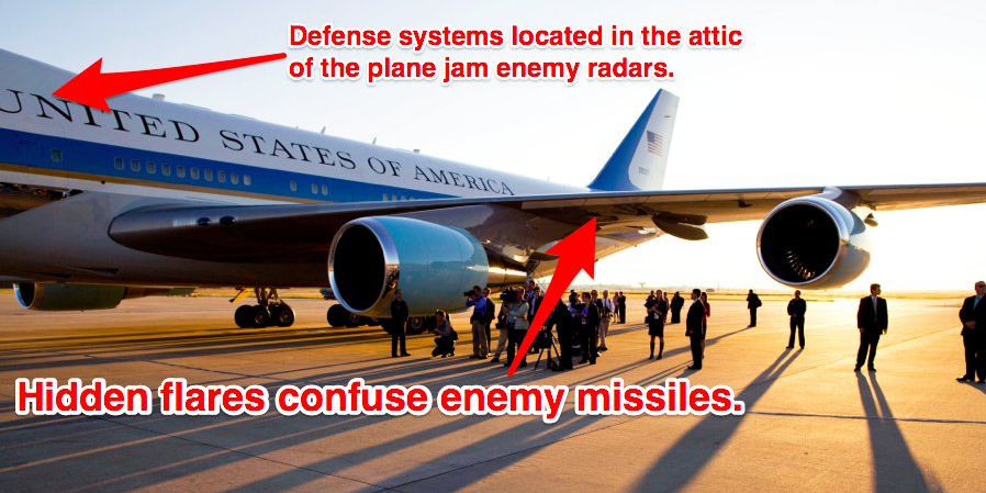 Features Of Air Force One Business Insider