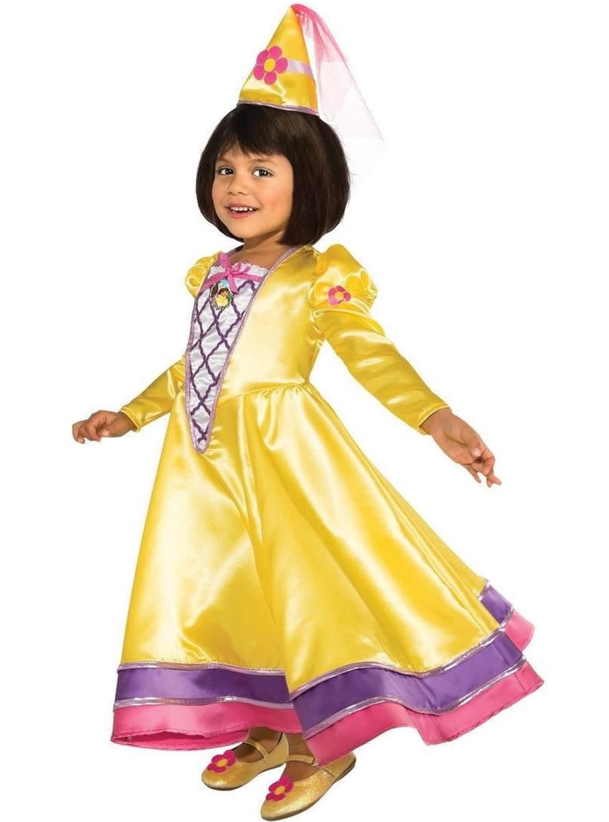 Dora the Explorer fairytale princess costume for a girl ...