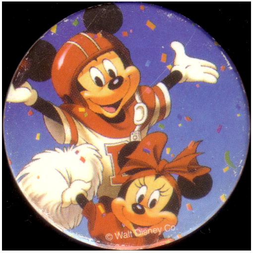Happy Minnie Mouse Birthday Cheerleader