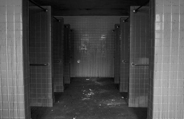 Shower Stalls Photo Of The Abandoned Pennhurst State School