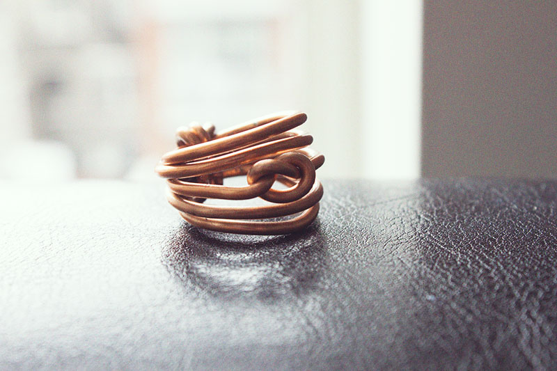 Tutorial Ring Knot Wire