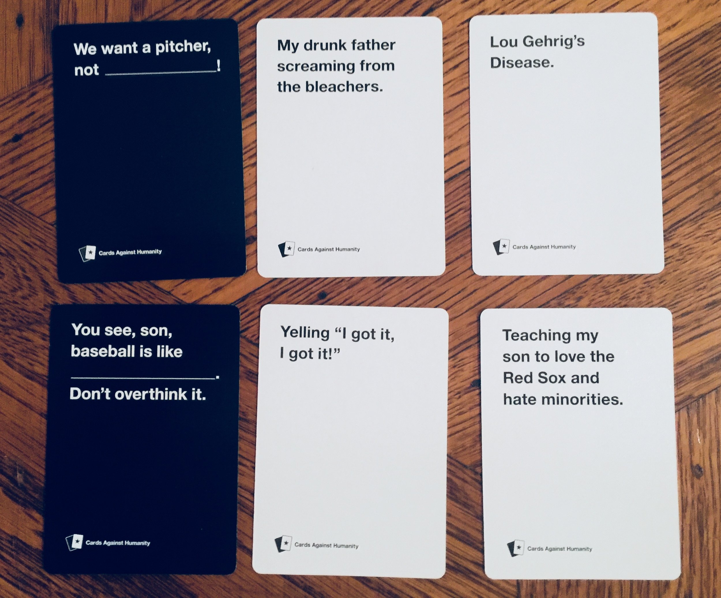 Image of: Feminist And Finally Heres Some Of The Other Things That Received Buzzfeed Cards Against Humanity Xmas 2017 Campaign Murray Gm