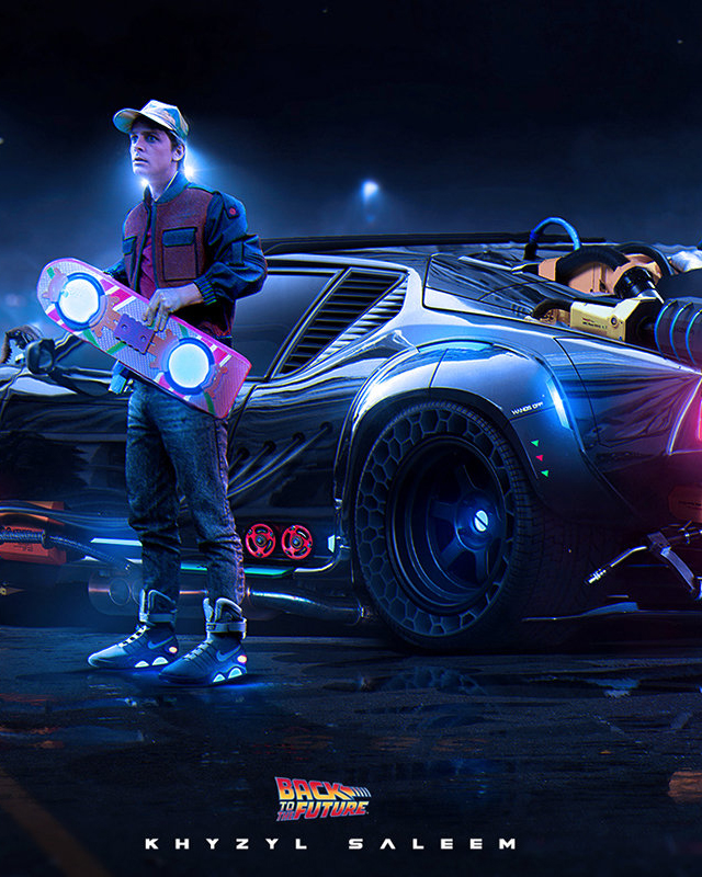 What Would An Updated Back To The Future Time Machine Look