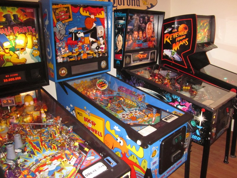 Arcades At Home   Chicago Area Pinball Repair We provide exceptionally clean  restored pinball machines  baseball pitch  and bats  shuffle alleys  arcade games and many different coin operated home