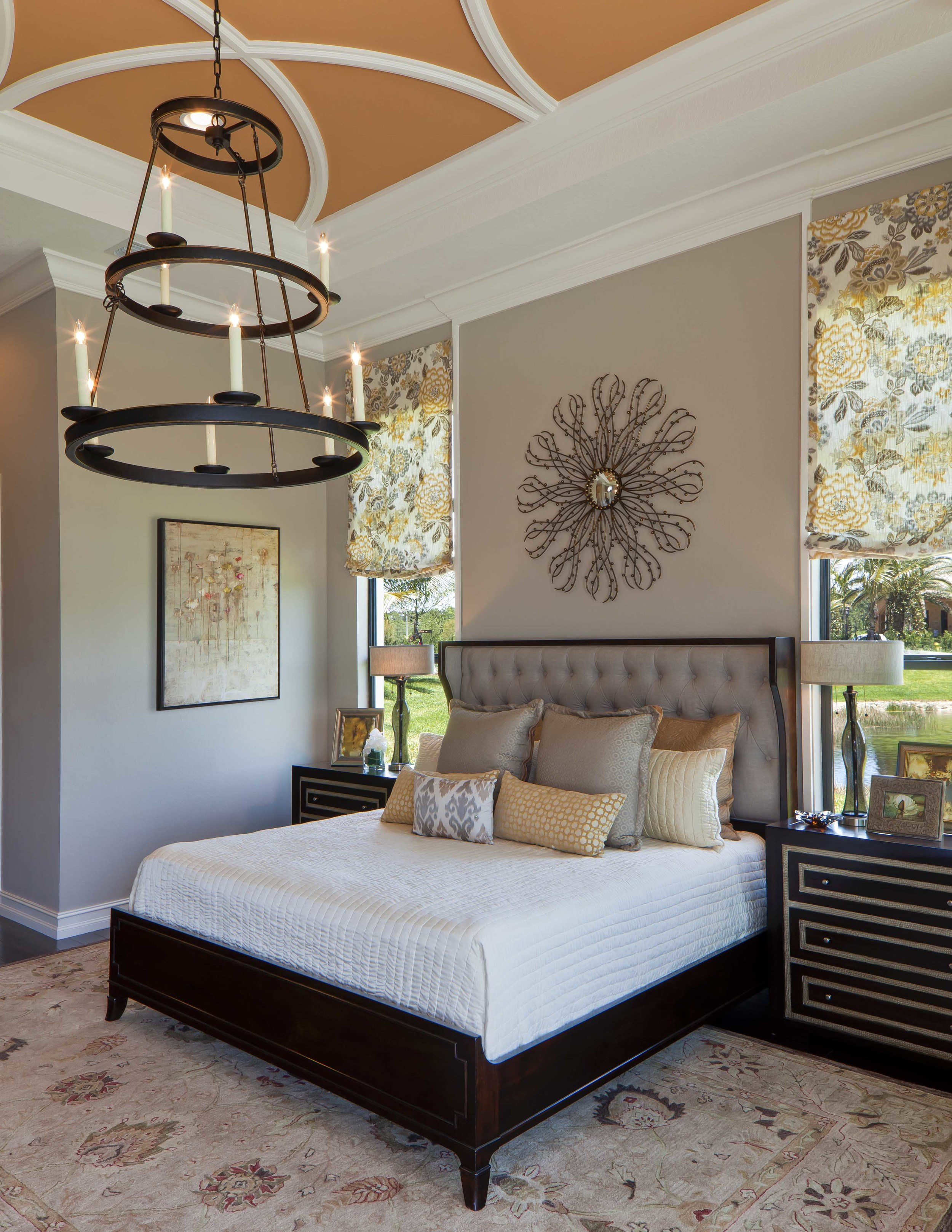 Vibrant Interior Design   A Spectacular Stand Out in Sea of Neutrals     Beasley   Henley s Design Principal Troy Beasley  created the interiors of  2822 sq  ft  home to be vibrant  providing a much needed contrast to pales  and