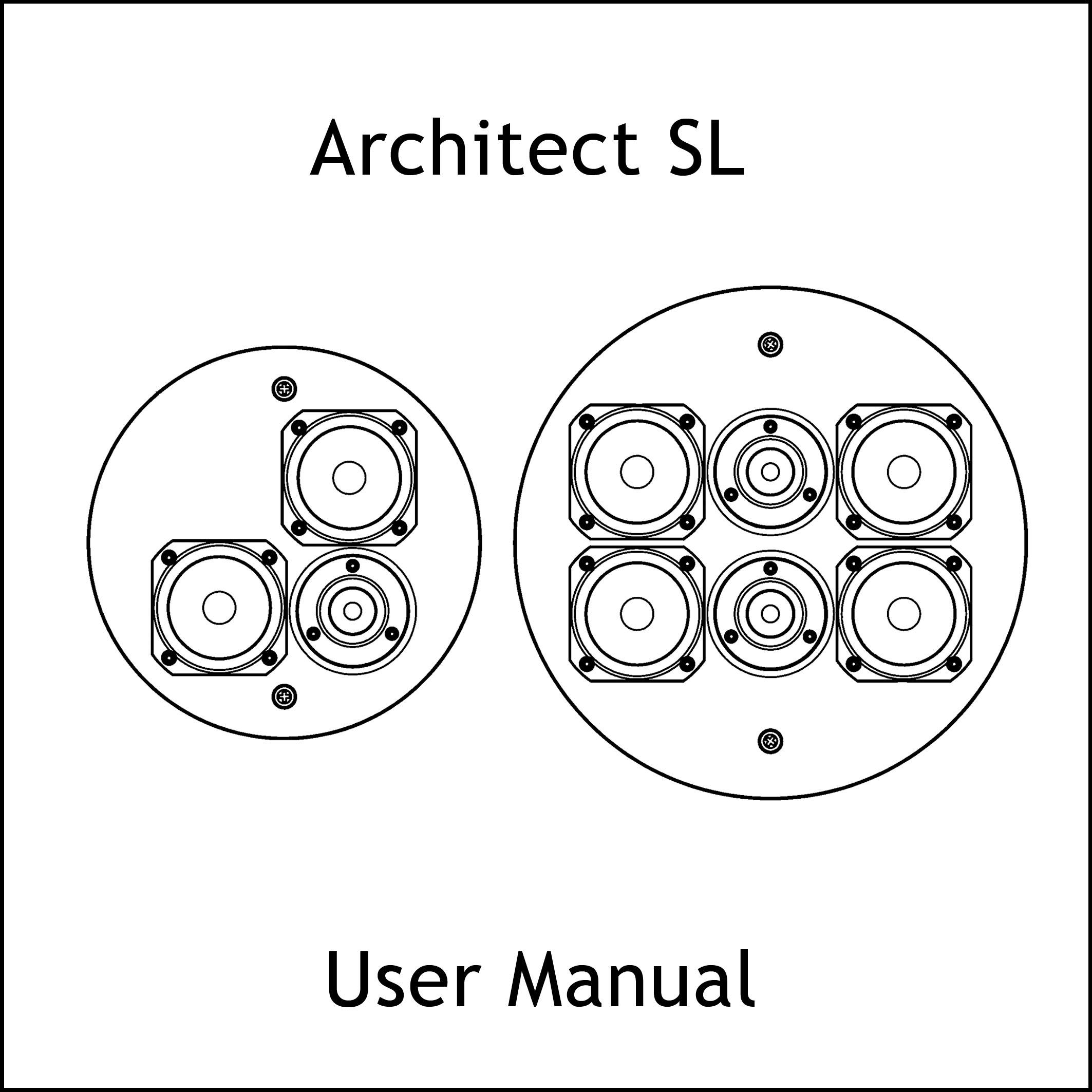 Manual icon array architect 4 2 sl u2014 artcoustic loudspeakers rh artcoustic