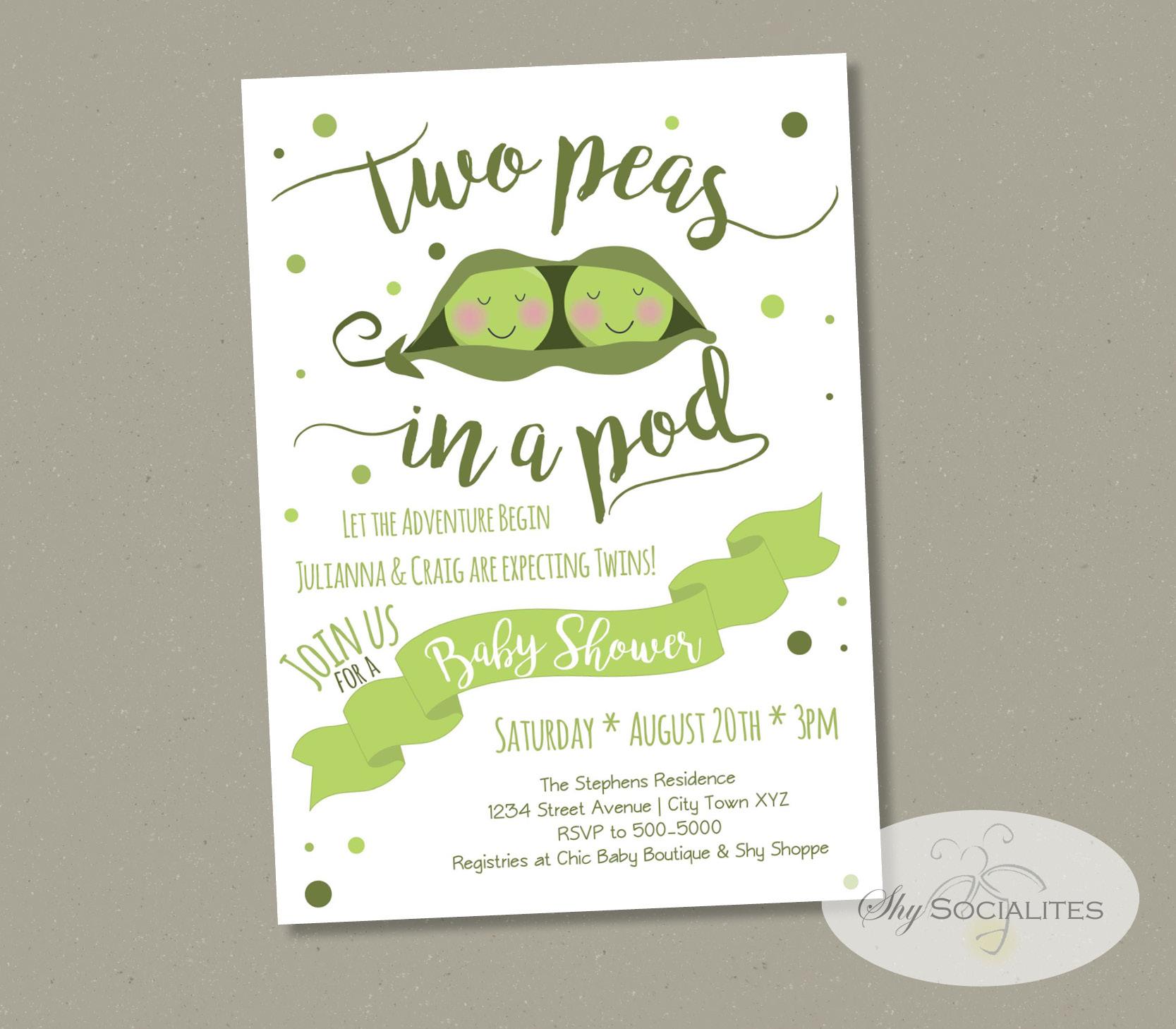 Print Yourself Bridal Shower Invitations