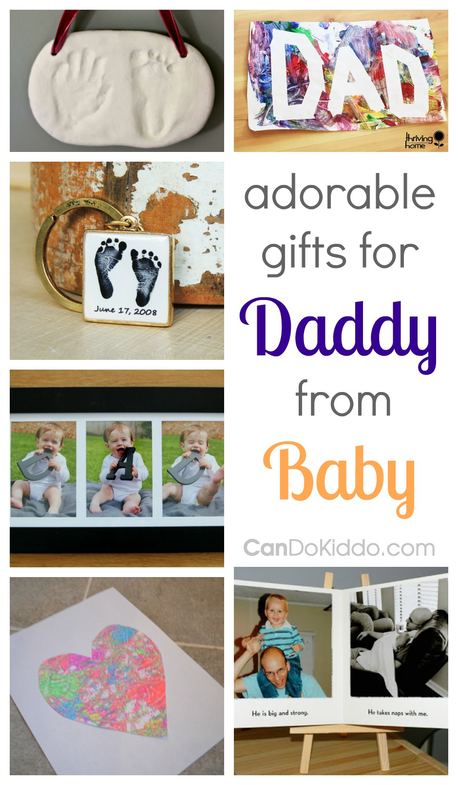 Homemade christmas gift ideas for dad from baby