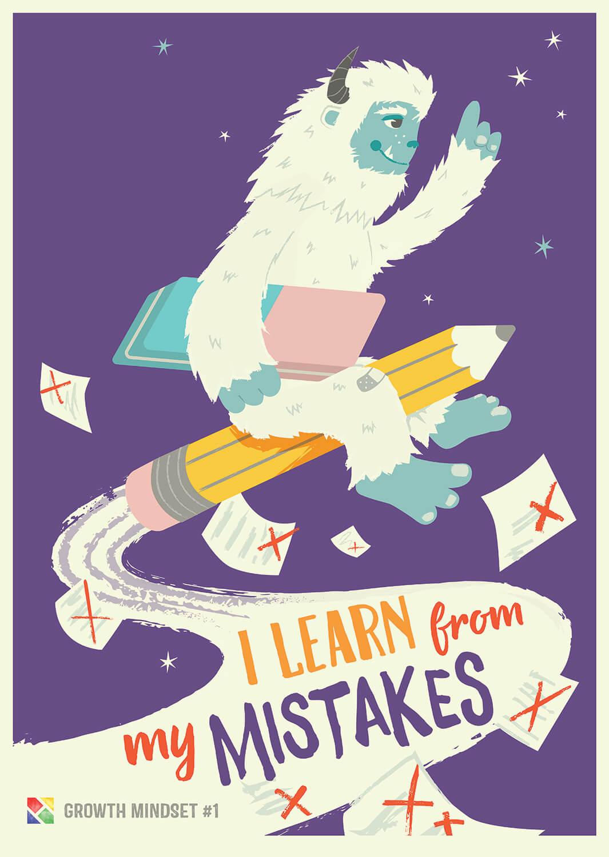 Growth Mindsets Carys Ink Freelance Illustrator