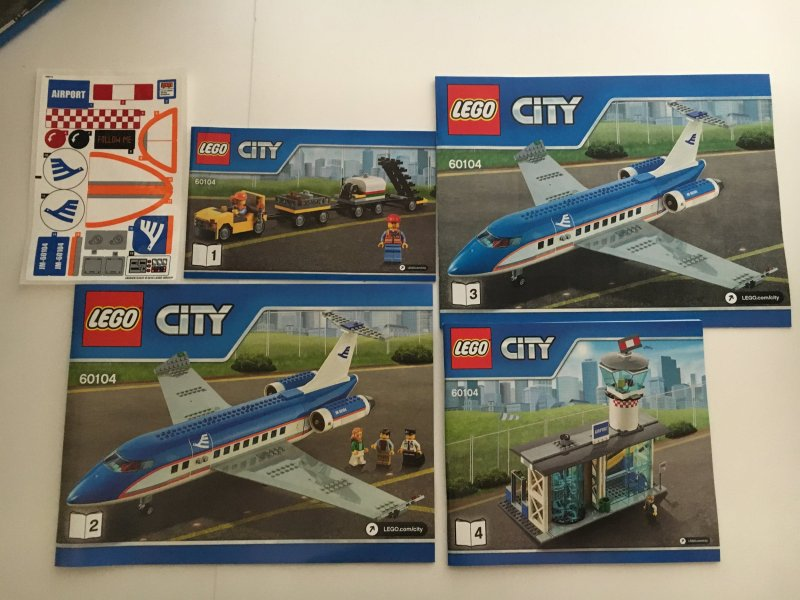 Lego City Airport Passenger Plane Full Hd Pictures 4k Ultra
