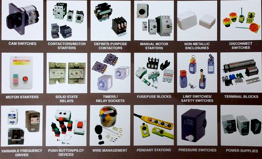 Electric Motors   Components     Brown   Associates Electrical Accessories