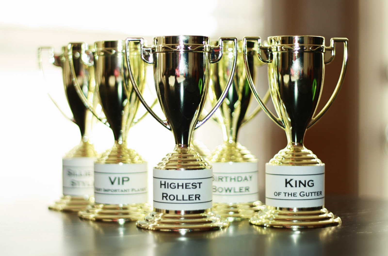 Birthday Awards Trophies And