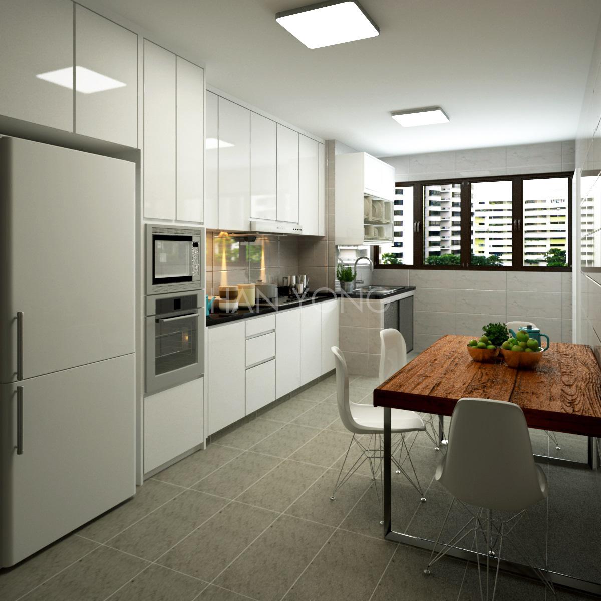 Kitchen Interior Design Hdb