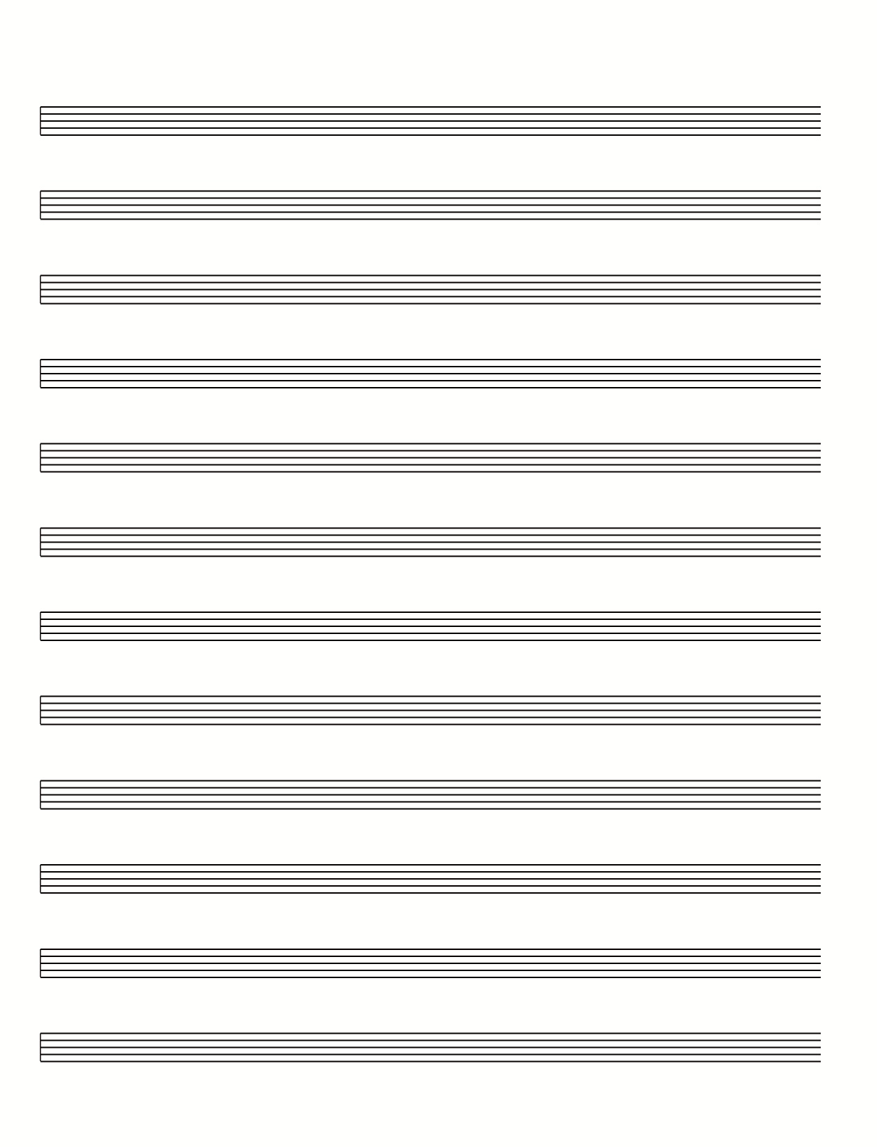 Printable Blank Tab Sheets