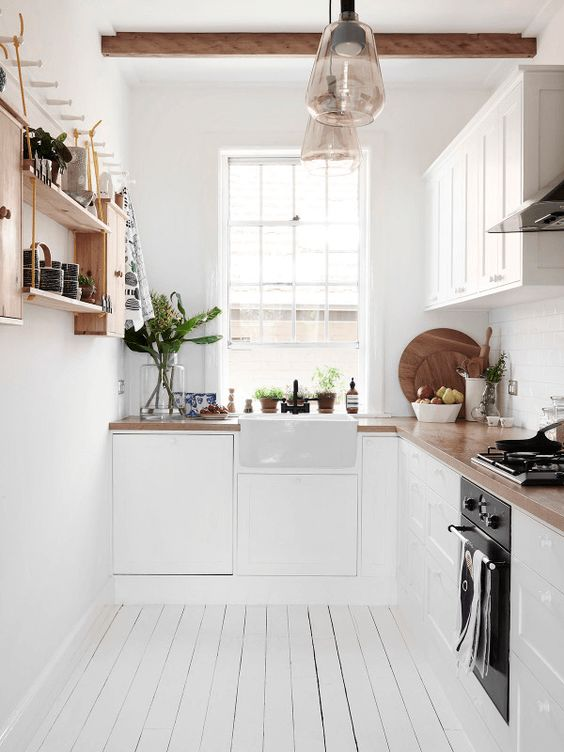 50 Small Kitchen Ideas and Designs     RenoGuide classic small white kitchen