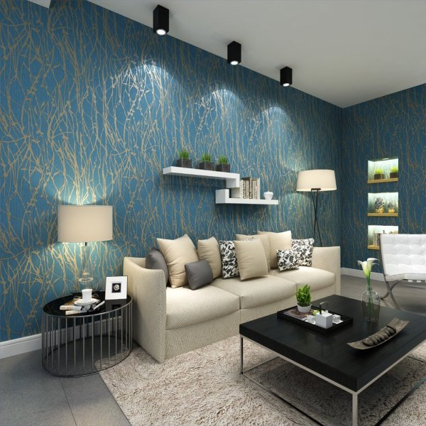 45 Gorgeous Wallpaper Designs for Home     RenoGuide luxurious wallpaper design for home