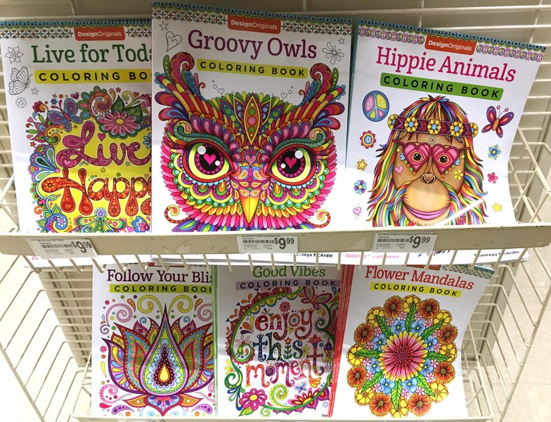 On My Desk This Week 2 Thaneeya Com McArdle Coloring Books In Michaels
