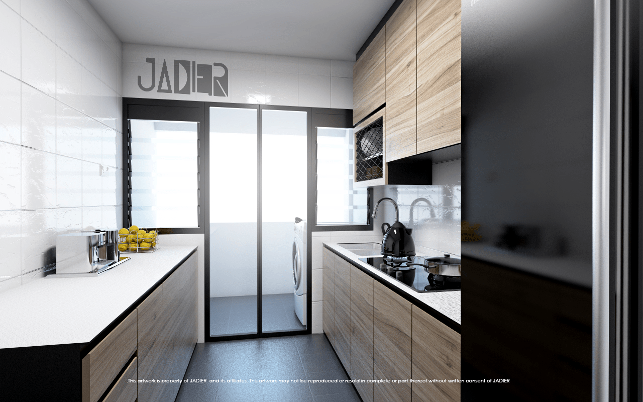 Kitchen Interior Design Hdb
