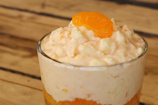 Pistachio Ambrosia Dessert