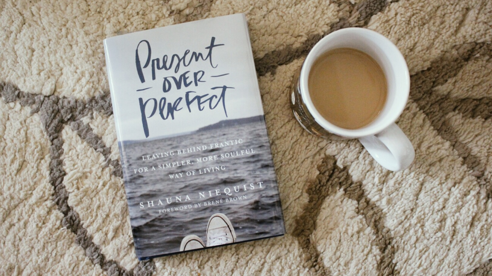 Present Over Perfect by Shauna Niequist     casee marie A collection of thought provoking essays  Present Over Perfect explores the  discoveries we make when we slow down  simplify  and choose to live with  more