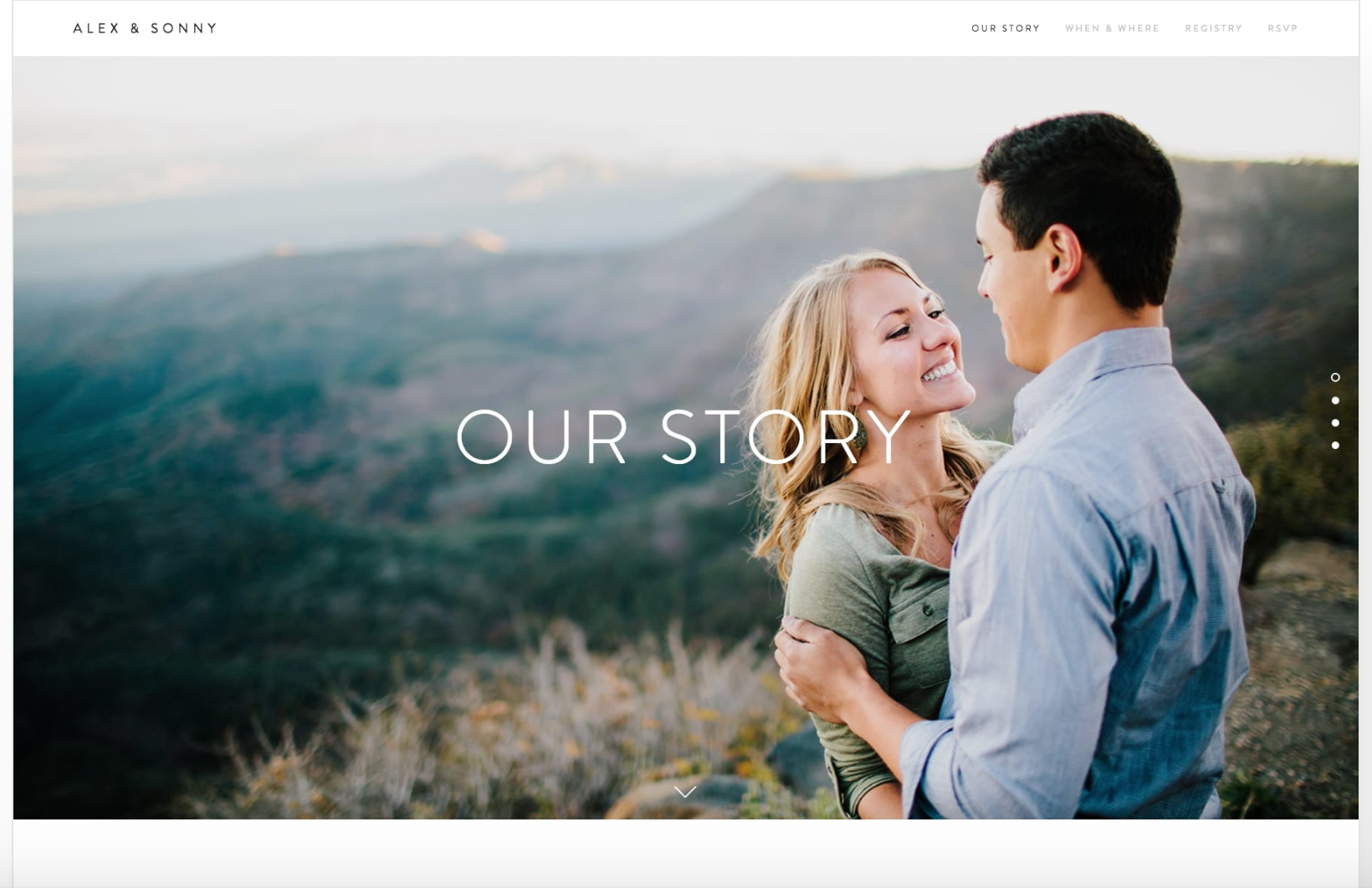 How to Create a Wedding Website Your Guests Will Love     Caroline     We love that wedding websites are a great way to keep your wedding weekend  information all in one location and make it easy for your guests