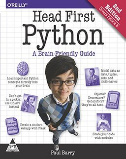 Head First Python, 2nd Edition by Paul Barry — Bassocantor ...