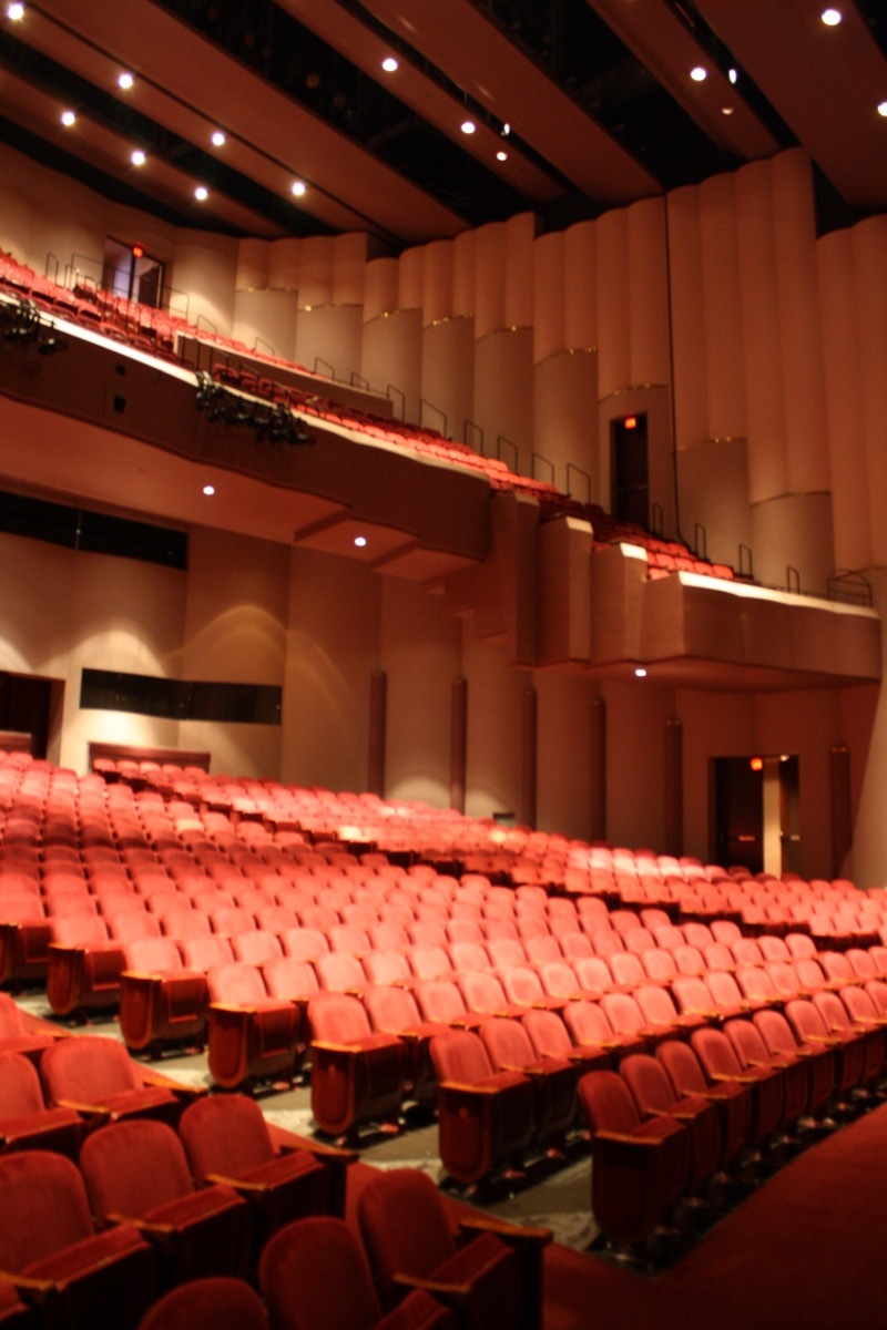 Wortham Theater Seating Chart