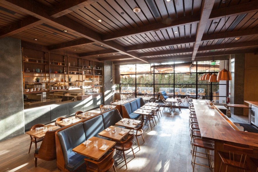Restaurant     Hinoki   the Bird Hinoki   the Bird is a travel inspired dining concept led by Executive Chef  Brandon Kida  that pushes modern California cooking to vibrant new bounds