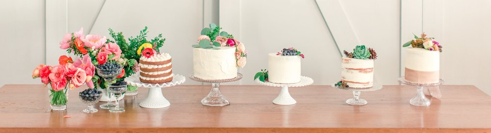 Cute Frosted Wedding Cake Ideas     PACIFIC ENGAGEMENTS cake and blooms wedding cake inspiration jpg