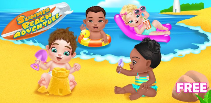 All Games     Baby Games Summer Beach Baby Care Games It s summer Babies were invited to a huge  beach party