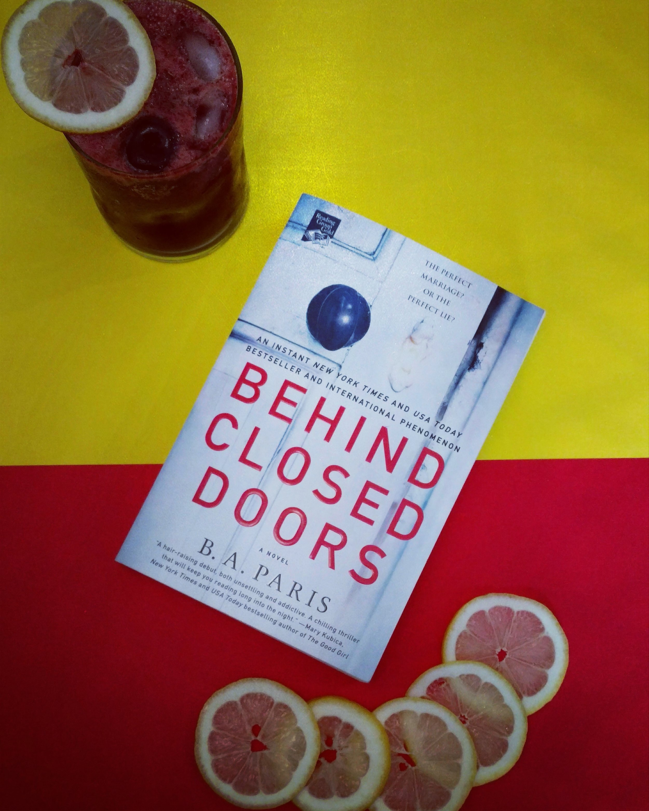 Post     Drink  Read  Repeat   Behind Closed Doors  by B A  Paris