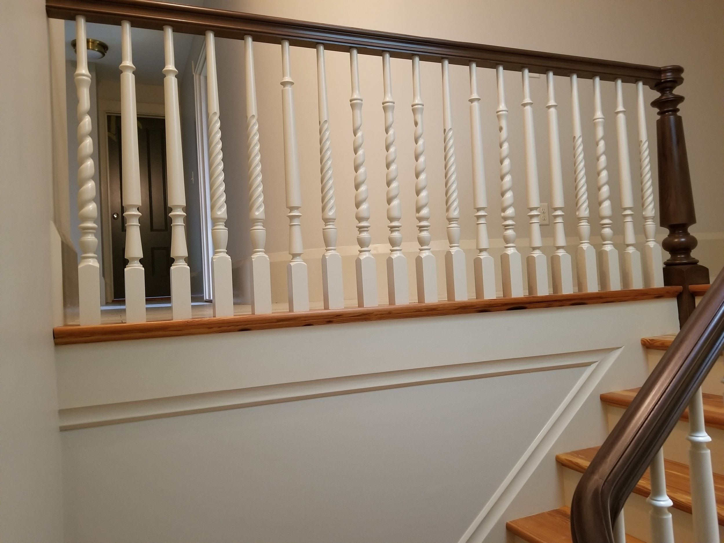 Wood Balusters — Oak Pointe Stair Parts And More   Wood Balusters For Sale   Rail Hardware   Wrought Iron Baluster   Deck Railing Spindles   Stair Treads   Stair Parts
