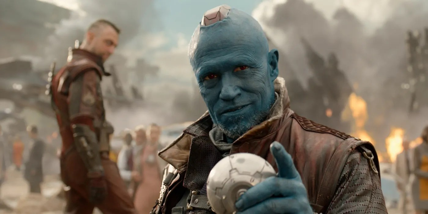 Gotg Fans Hated Yondu S Small Fin Screenrant